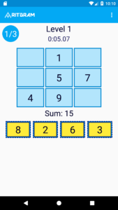 Easy-Level-Magic-Squares