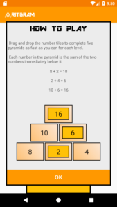 How to play Number Pyramids Game