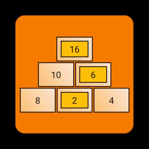 Number Pyramids Icon