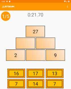 Number-Pyramid-challenge-Tablet
