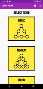 Modes Magic Triangles